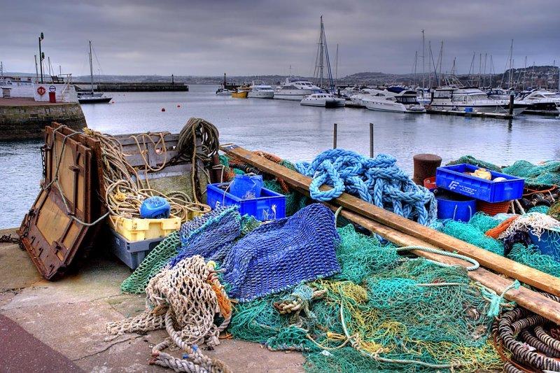 Nets and rope, Torquay