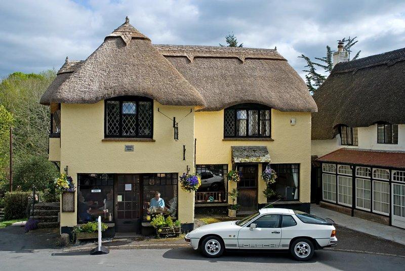 Primrose Cottage Tea Room, Lustleigh (3847)