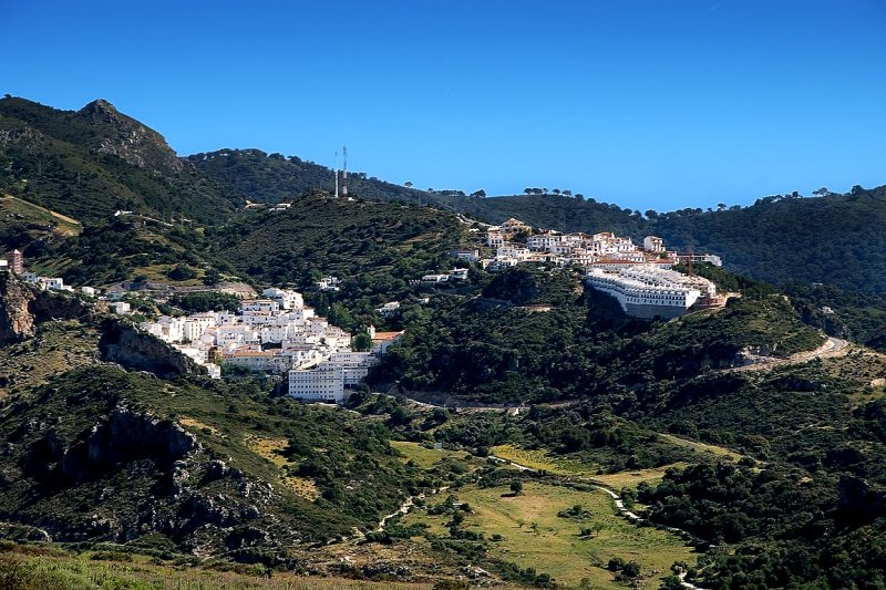 Casares from the turbines