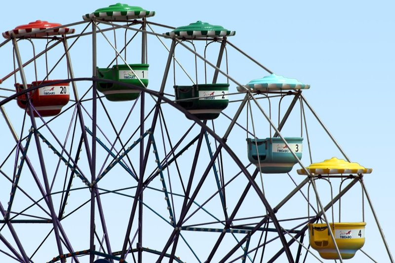 Ferris wheel, Tibidabo