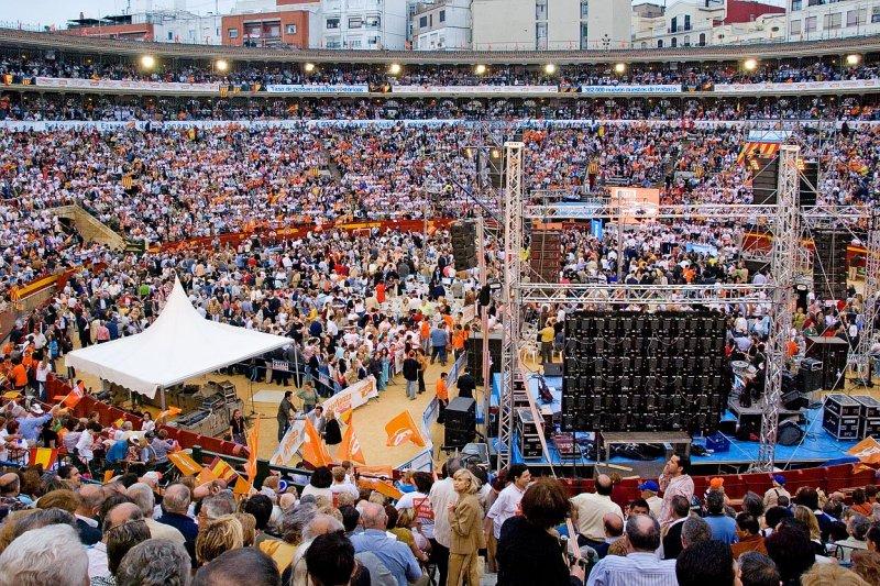 Political rally, Valencia (1545)