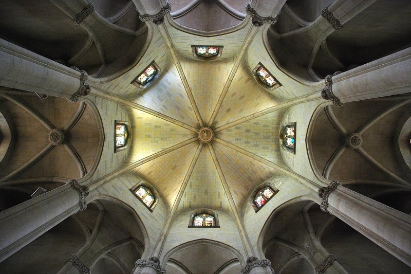 Basilica ceiling, Tibidabo