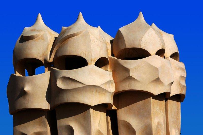 Gaudis guards, Barcelona