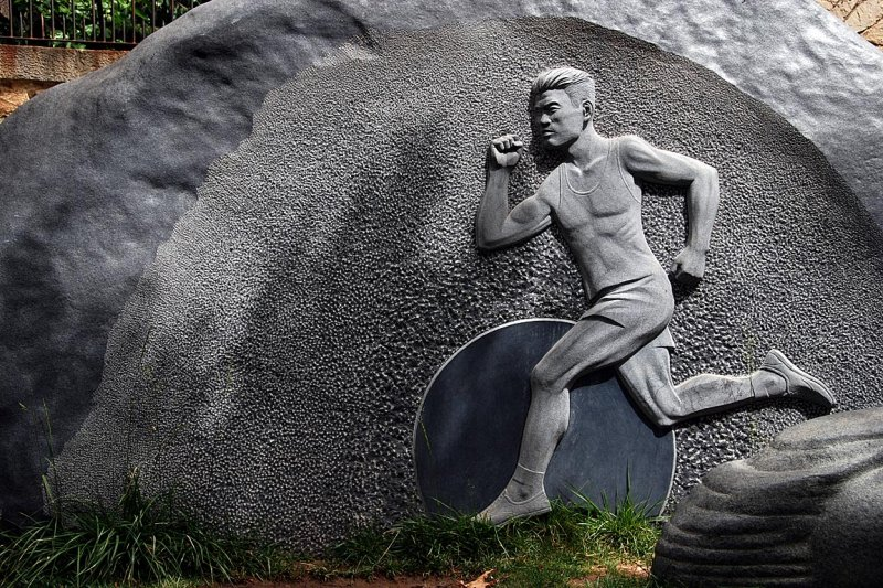 Olympic sculpture, Montjuic