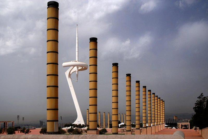 Telefonica tower, Montjuic
