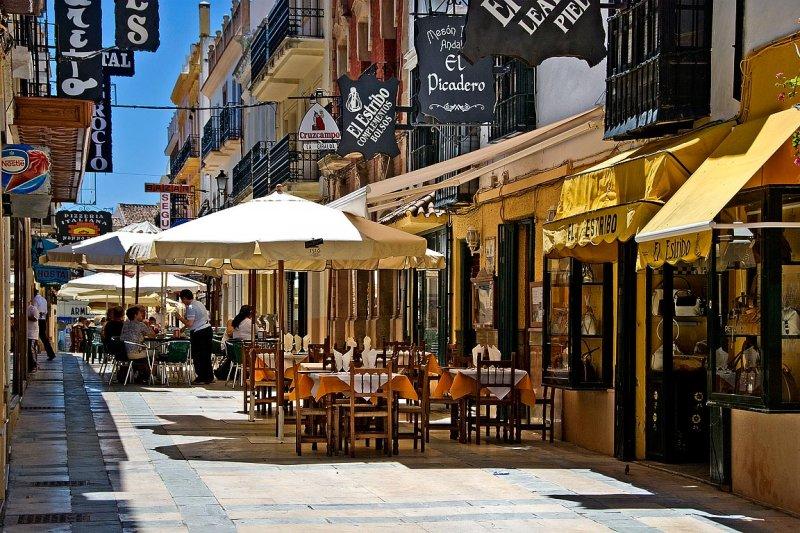 Street cafes, Ronda