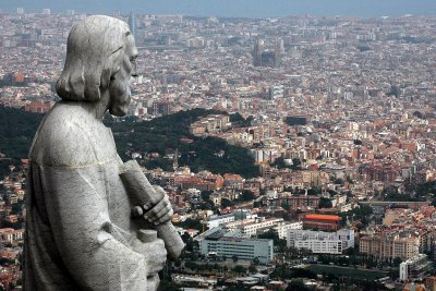 Apostle and city, Tibidabo