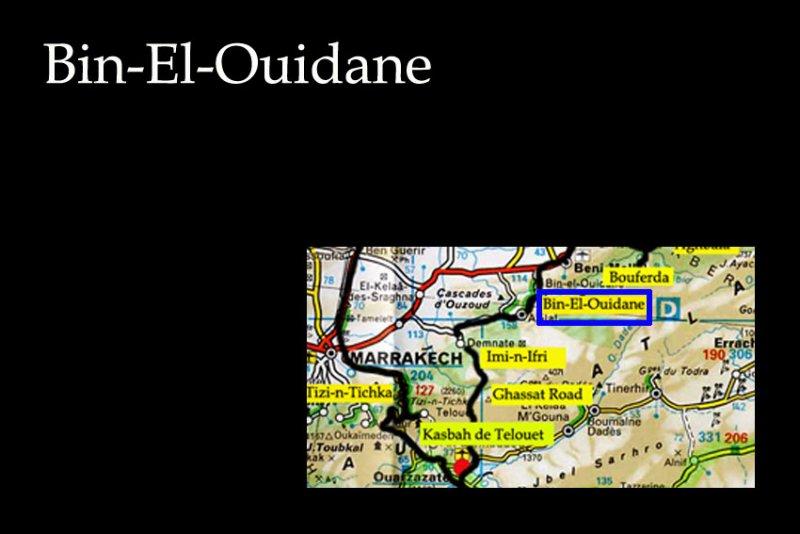 Bin-El-Ouidane Road