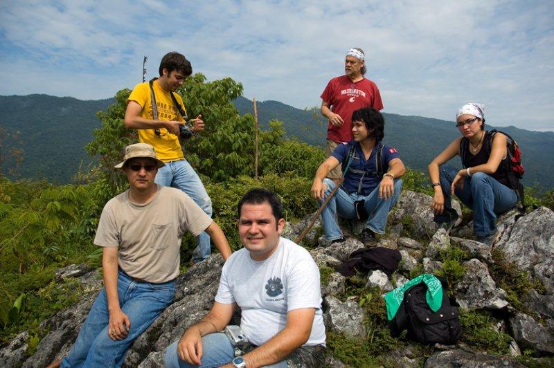 Carlos G. Gomez and Students at North Hill, El Cielo Biosphere