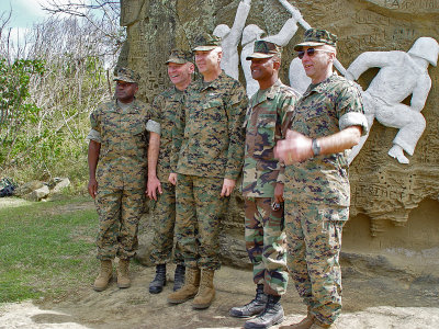Four generals and a colonel