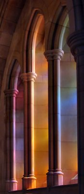 National Cathedral shadows (4th place, Concrete Jungle Challege)