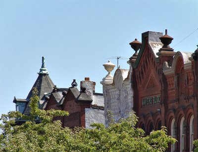 Pennsylvania Avenue rooftops