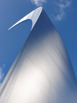 Air Force Memorial monolith