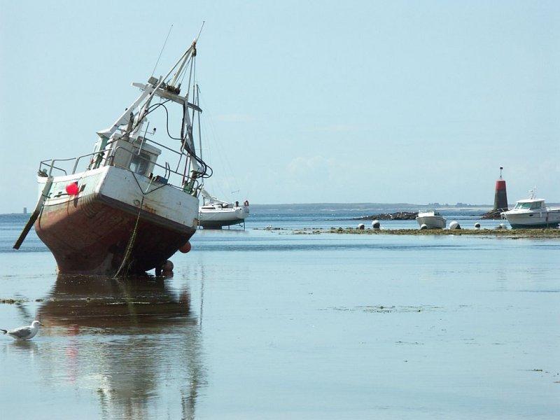 Grande marée au Conquet.