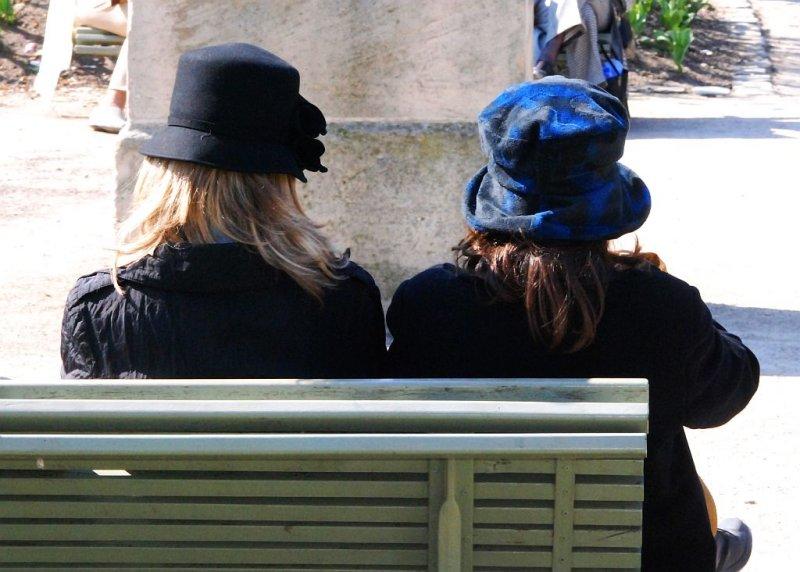 Paris. Jardin du Palais Royal.