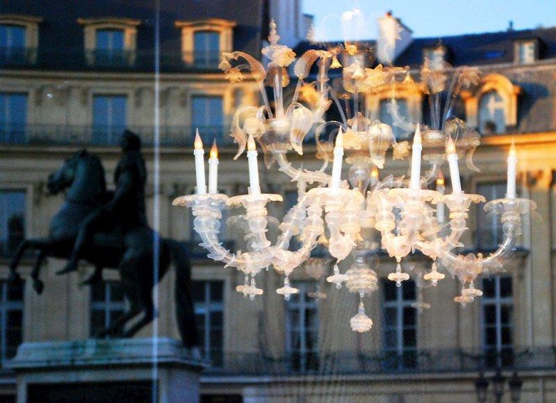 Le reflet de Louis XIV.