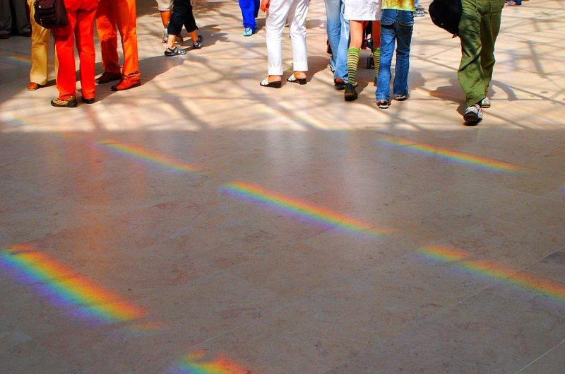 Spectre solaire.