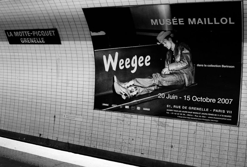 Weegee for Barbara...one month later.