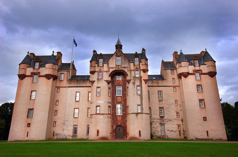 Fyvie Castle..