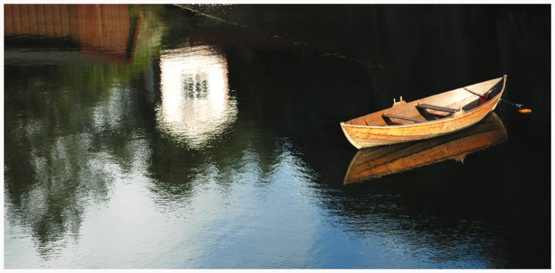 Reflection and boat 2