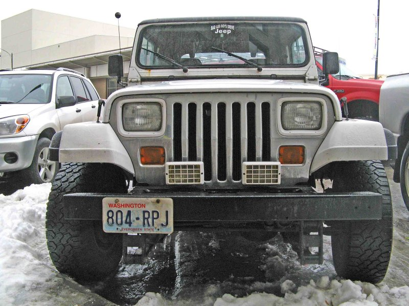 YJ Jeep From Early 90s