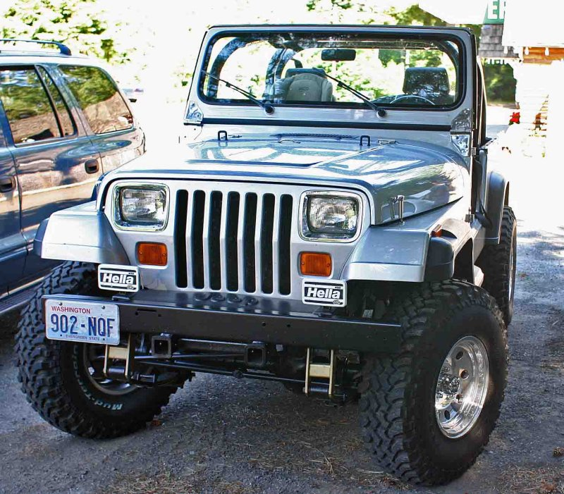Bad  YJ Jeep Wrangler