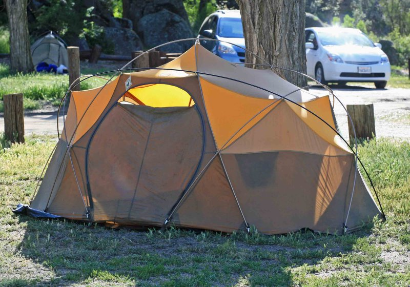 North Face Oval Intention Four Season Tent & North Face