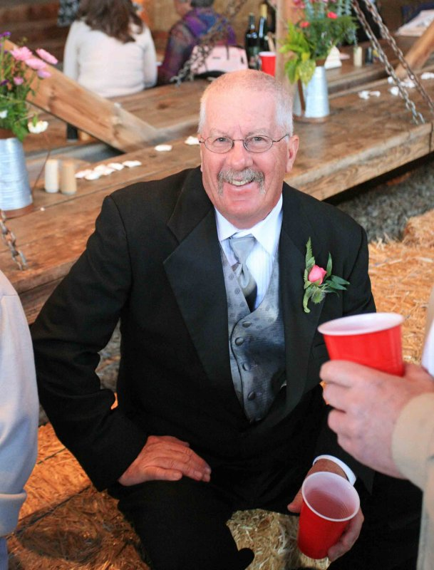Father Of The Bride ( No, Not Steve Martin) Bruce