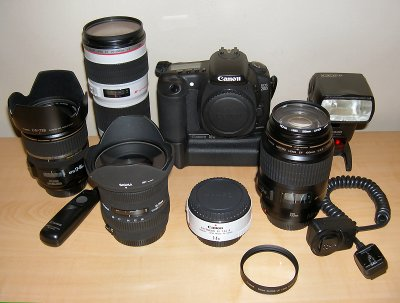 Canon 20D System 2007