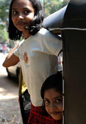 Auto-rickshaw girls