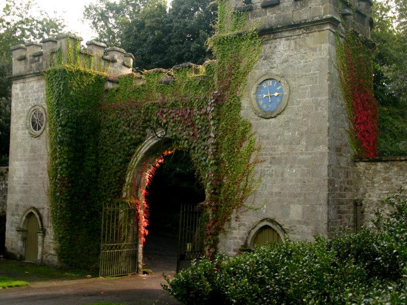 Entrance to Stourhead Gardens.