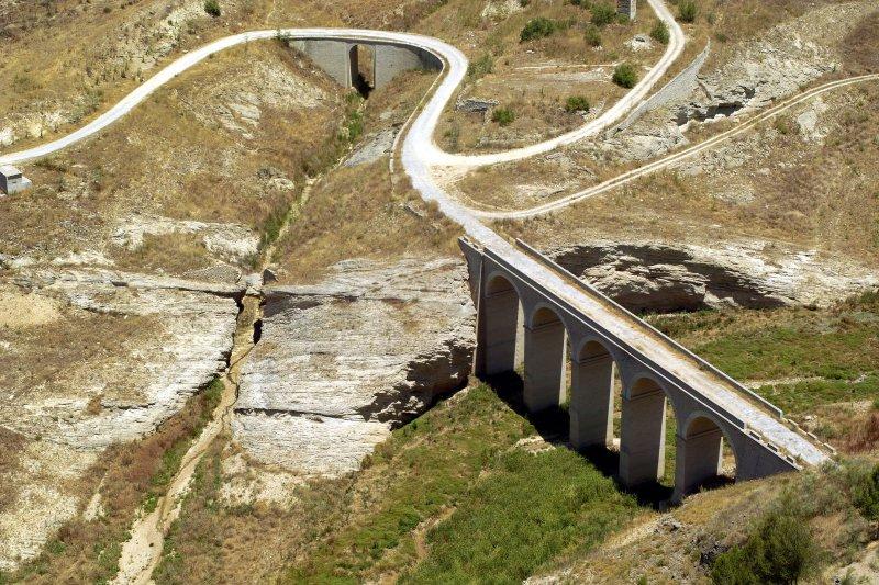 Iznajar - viaduct. Spain