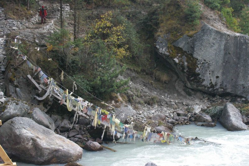 Bridge collapsed during  last monsoon