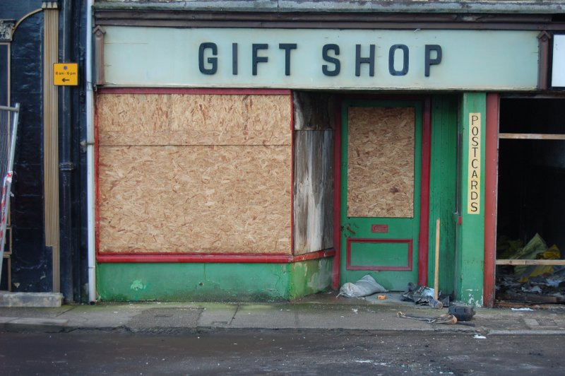 Boarded Up Gift Shop