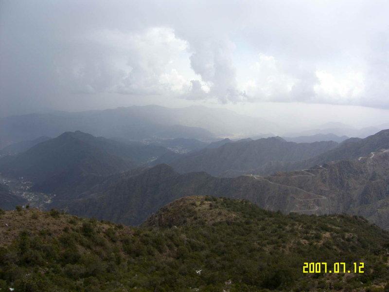 ABHA - Landscape from Souda Mountain - Highest point in SA.jpg