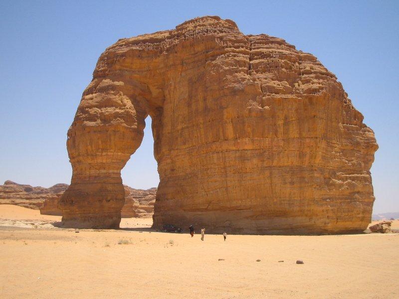 Elephant Structure outside Al-Oula.JPG