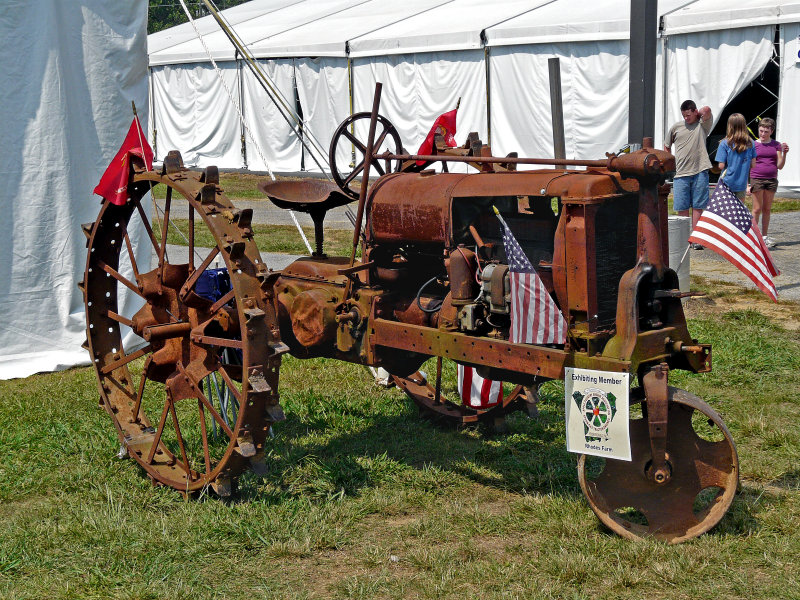 GRANDFATHER TRACTOR