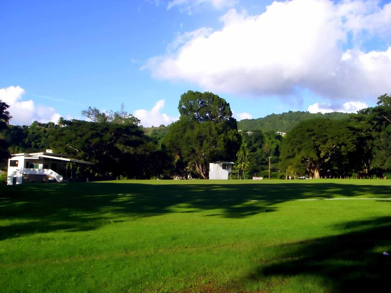 2007 ? Cricket doesnt come to Dominica