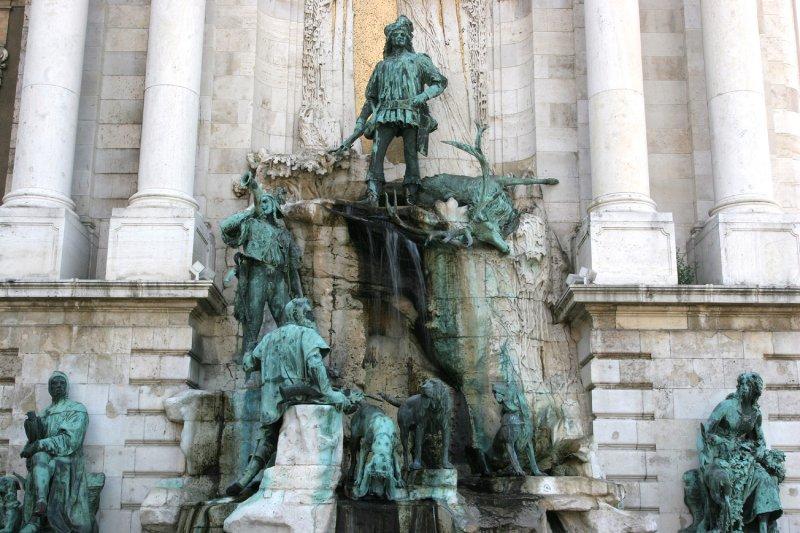 Statue in the Buda Castle