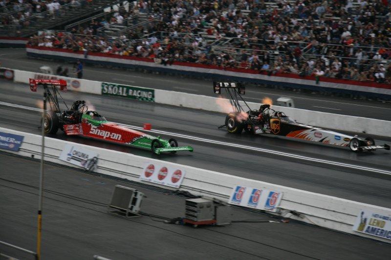 Doug Herbert and BobVandergriff Top Fuel Dragsters