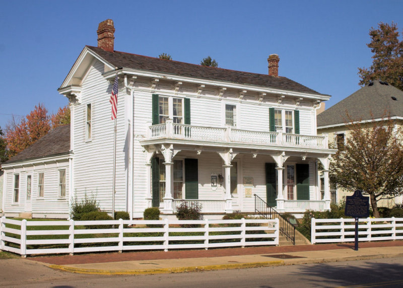 James Whitcomb Riley Home, Greenfield, IN