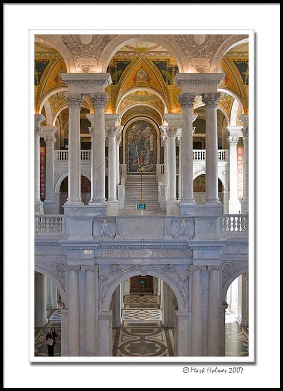 Library of Congress - view of both floors