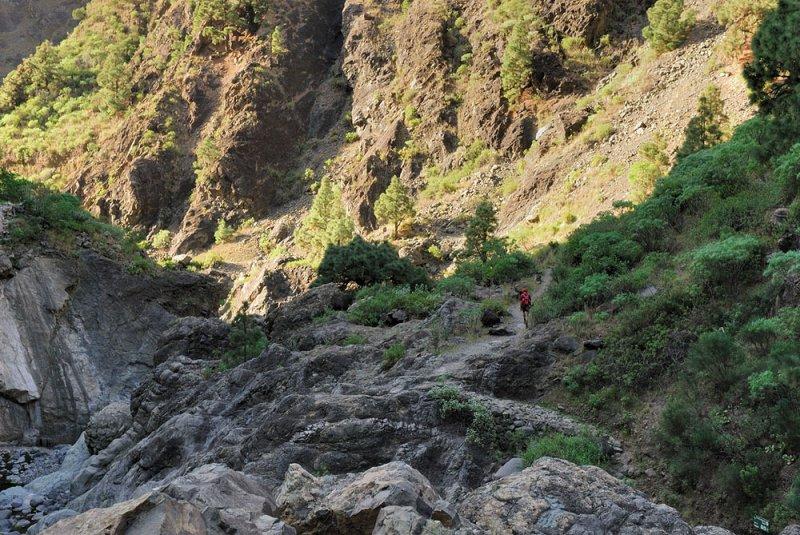 Hiking  Caldera de Taburiente 2