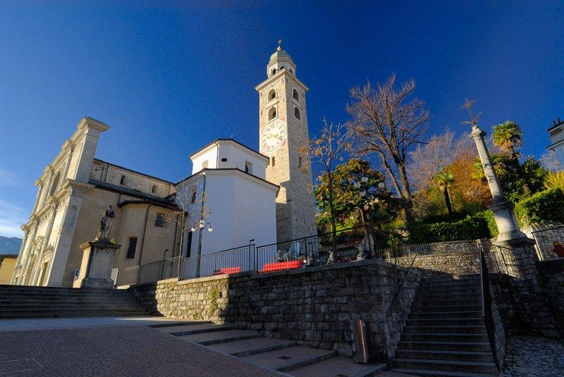 San Lorenzo Cathedral at Morning Sun