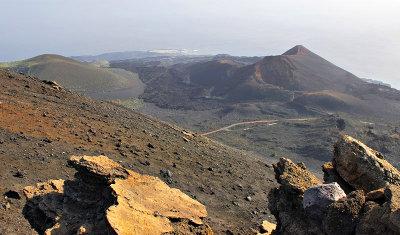 View South from Volcan de San Antonio