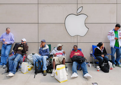 Queuing for the iPhone