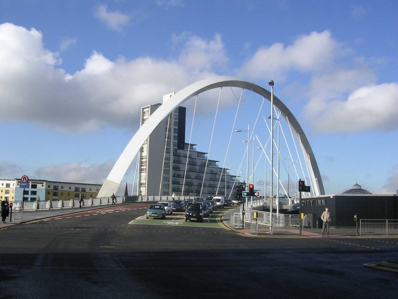 Clyde Arc - Finnieston Road Bridge
