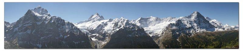 Die Viertausender von Grindelwald