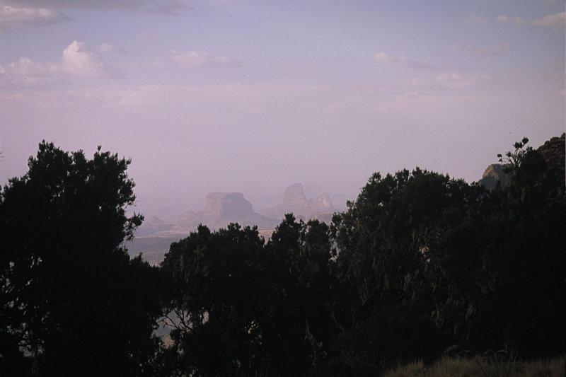 (D) Simien Mountains