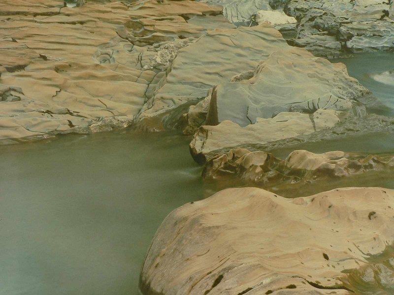 Shale, Kicking Horse River, Yoho Park